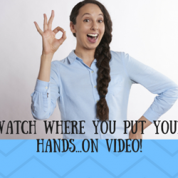 Effective hand gestures on video