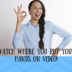 Effective hand gestures on video